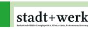 Logo stadt+werk